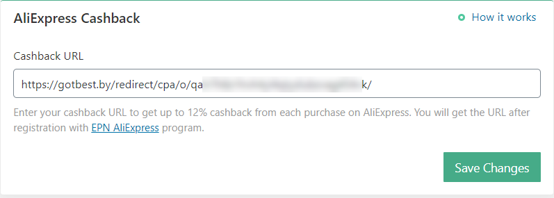 aliexpress cashback alidropship